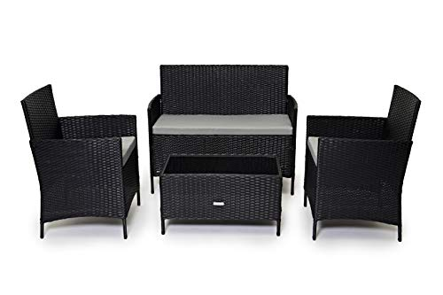 Cosmoliving Rattan Garden Furniture Set Patio Conservatory
