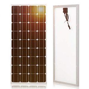 DOKIO-100w-Solar-Panel-for-12v-Battery-Monocrystalline-Waterproof-Solar-System-for-The-Roof-of-Motorhome-Caravan-Camping-Jardin-Rv-Yacht-Shed-Vans-Campervan-Garden-Trailer-Truck-Boat-0
