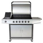 FirePlus-61-Gas-Burn-Grill-BBQ-Barbecue-wSide-Burner-Storage-0