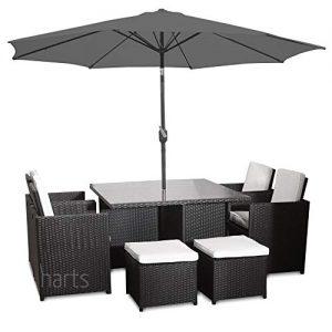 Harts-Premium-Rattan-Dining-Set-Cube-8-Seats-Garden-Patio-Conservatory-Furniture-inc-Rain-Cover-Parasol-0