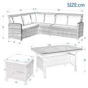 Leisure-Zone-9-Seater-Rattan-Garden-Furniture-Set-Corner-Sofa-Patio-Conservatory-Indoor-Outdoor-7-pieces-set-table-chair-sofa-10-years-warranty-0-0