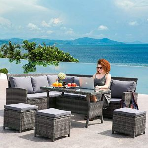 Leisure-Zone-9-Seater-Rattan-Garden-Furniture-Set-Corner-Sofa-Patio-Conservatory-Indoor-Outdoor-7-pieces-set-table-chair-sofa-10-years-warranty-0