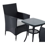 Outsunny-Garden-Outdoor-Rattan-Furniture-Bistro-Set-3-PCs-Patio-Weave-Companion-Chair-Table-Set-Conservatory-0-4