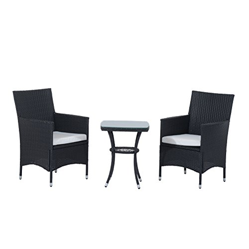Outsunny-Garden-Outdoor-Rattan-Furniture-Bistro-Set-3-PCs-Patio-Weave-Companion-Chair-Table-Set-Conservatory-0