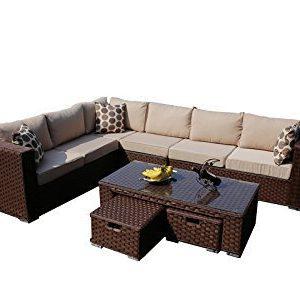 YAKOE-Papaver-8-Seater-Modular-Conservatory-Rattan-Corner-Garden-Sofa-Furniture-Set-0-2