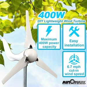 Automaxx-Windmill-400W-12V-Wind-Turbine-Generator-kit-MPPT-charge-controller-included-Automatic-and-manual-braking-system-DIY-installation-0