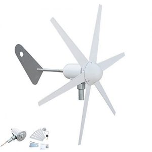 ECOWORTHY-300W-6-Blades-Wind-Turbine-Generator-for-DC12-Volt-Battery-Charging-Boats-Gazebos-Chalets-or-Mobile-Homes-0