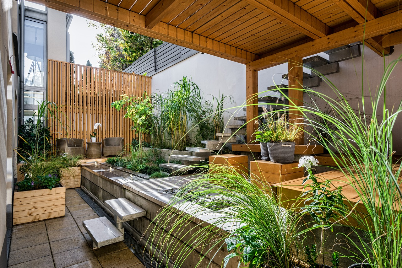 10 ideas to design a garden balcony or terrace