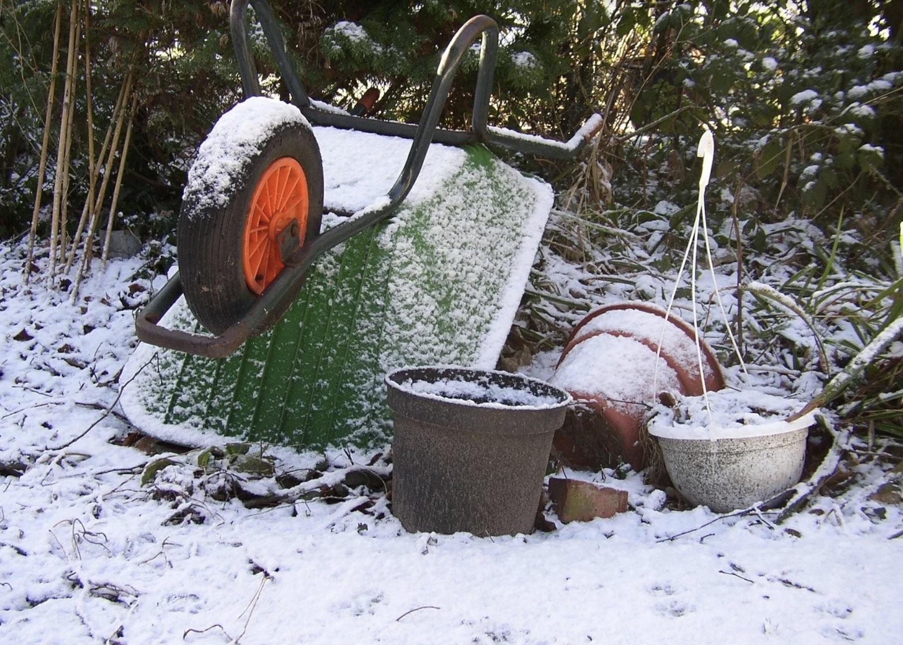 Winter Storage of Garden Equipment